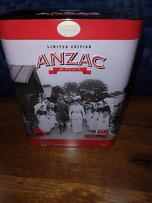 "Anzac Biscuit Tin 2017 ""Aans Rouen 1917 Nurses"" Limited Edition"