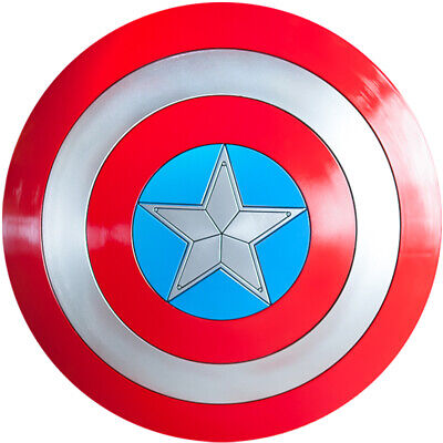 The Avengers Captain America Shield 1:1 ABS Replica Cosplay Props Shield New FFN