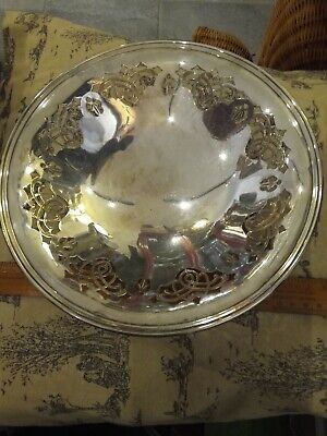 Mappin and Webb Princess's  silver plate  Tazza, bon bon  9 inches Dish not worn