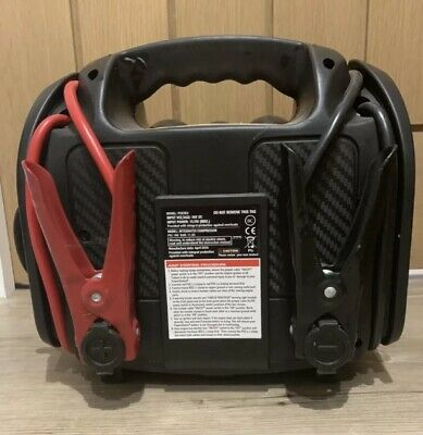 Power Station Psx3Eu Portable Jump Starter And Air Compressor Tyre Inflator Usb