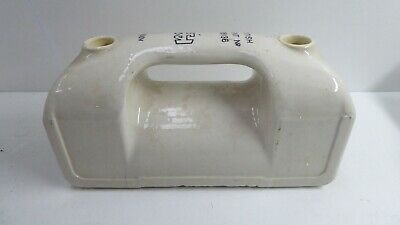 Large Antique Porcelain Electric Insulator Industrial Fuse 500V