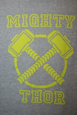 Marvel Mighty Thors Hammer Movie Promo Only In Theaters Mens Xl T Shirt Avengers