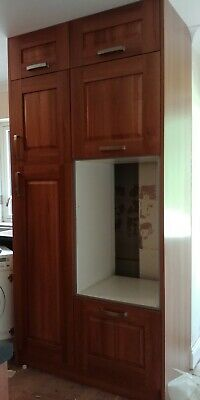 Magnet Oak kitchen Units, Larder Cupboard And Oven housing Unused!