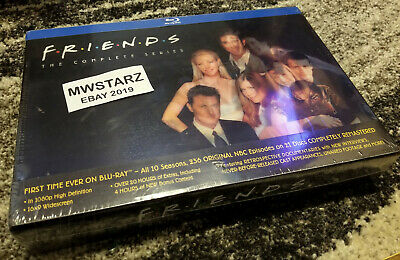 Friends The Complete Series Collection (Blu-ray Disc 2012 21-Disc Set) New