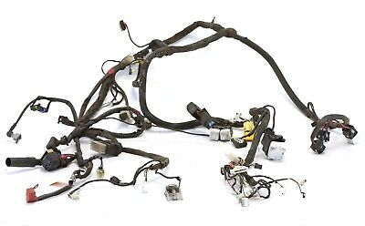06 - 08 Piaggio Beverly 500 complete wiring harness off running BV500 - Video
