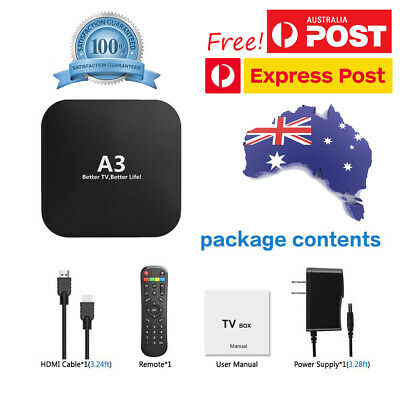 2020 Newest A3 Android TV BOX HTV