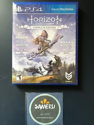 New Horizon Zero Dawn Complete Edition Playstation 4 Ps4 Sealed Fast Free Ship!!