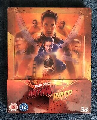 Ant-man & The Wasp (3D/2D Blu-ray discs, 2019) UK Steelbook SEALED