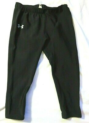 Under Armour Black Leggings Pants Girls Youth Large L