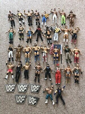 2 x STAMPELLE Marrone Accessorio per il Wrestling Figure WWE TNA