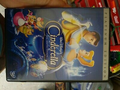 Cinderella (DVD, 2005, 2-Disc Set, Special Edition Platinum Collection) disney