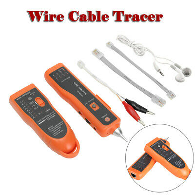 Telephone Network Cable Wire Line LAN Cable Tracker Toner Tracer Tester+Case Box