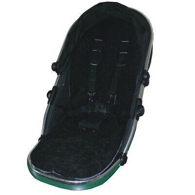 Black Seat Liners for i-Candy Peach Pushchairs