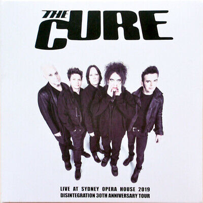 THE CURE Live 2019 Disintegration 30th Anniversary Tour Sydney Opera House 2CD