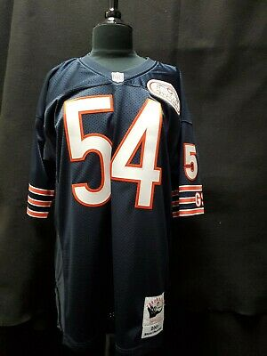 25dd66de301 MITCHELL & NESS CHICAGO BEARS Authentic Leather-Wool Varsity Jacket ...