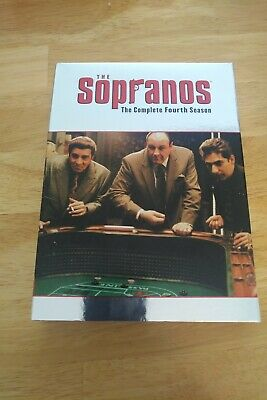 The Sopranos - The Complete Fourth Season, 2002, 4-Disc Set mint condition