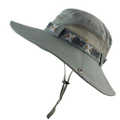 5b1b4a0502c20a Upf 50+ Bucket Hat Summer Boonie Hat Outdoor Uv Protection Tactical Sun Hat  Cap