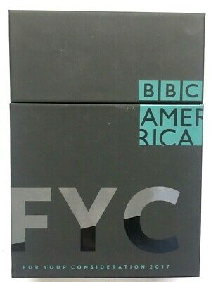 BBC AMERICA FYC DVD Box Set 2018 4 Series Complete Seasons EMMY Promo NEW