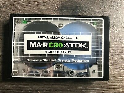 Cassette - Tdk Ma-R C90 Metal Alloy - Japan - New Sealed - Rare !!!