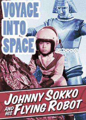 VOYAGE INTO SPACE (1970) The Johnny Sokko & Giant Robot Movie ! Kaiju Godzilla