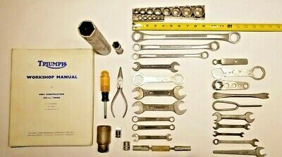 Triumph, Craftsman Whitworth and Mixed Tool lot