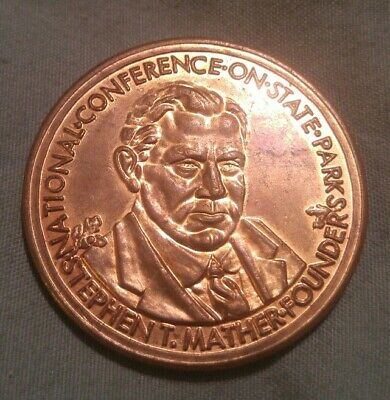 National Conference On State Parks 1921-1971 Des Moines Iowa Commemorative Token