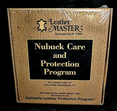 Leather Masters Nubuck Care & Protection Program Type N Dr Tork New Seal Package