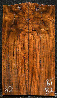 """Black Locust #82 Knife Scales 6""""x 1.75""""x 3/8"""" note defects"""