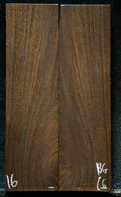 """Bog Birch African #16 Knife Scales 6.3""""x1.6-1.7""""x3/8"""" see100 species in my store"""