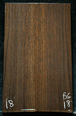 """Bog Birch African #18 Knife Scales 5.9""""x1.7-1.8""""x5/16""""see100 species in my store"""
