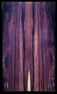 """Camatillo Rosewood #114 Knife Scales 6.75""""x2""""x3/8"""" note defects"""