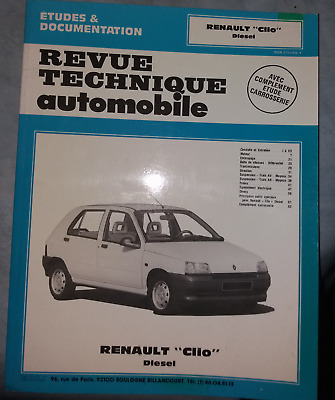 RTA revue technique automobile RENAULT clio diesel