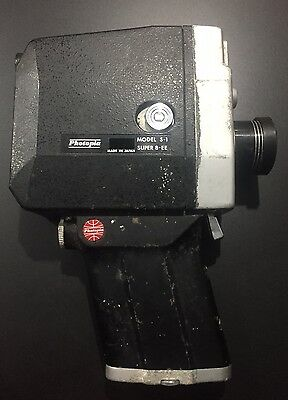 Vintage Photopia Super 8-EE Camcorder Model S-1 - Collectable