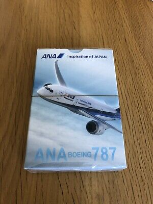 All Nippon Airways ANA Boeing 787 Dreamliner Playing Cards Brand New Sealed Pack