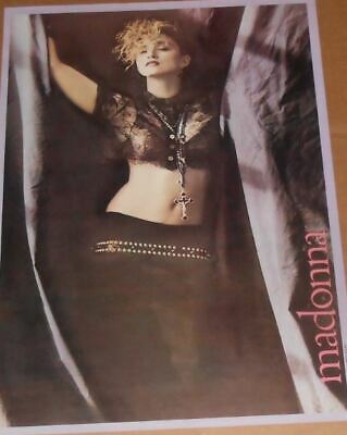 New Vintage 1984 rare early Madonna Boy Toy poster NEW/SEALED