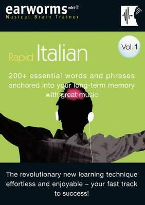Earworms Rapid Italian Vol. 1: 200+ Essential Words and Phrases Anchored into Yo