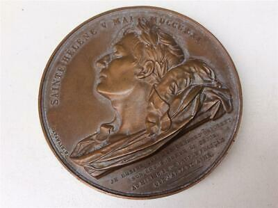 France Napoleon I - Bronze Medal Return from the ashes - Passage in Rouen 1840