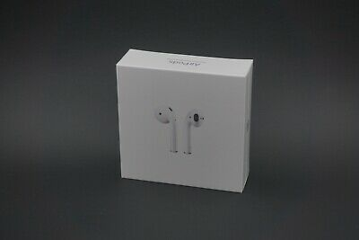 Brand New Apple AirPods (2nd Gen) with Wireless Charging Case A2032 - White