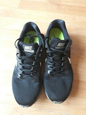 f4e151ee81 Nike Air Zoom Structure 21 Black Mens UK Size 10 dynamic fit running  trainers