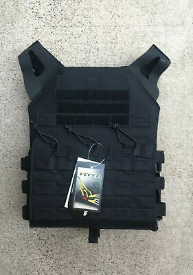 MODI (FLYYE) JPC Swift Tactical Plate Carrier - Black - Fabric Webbing