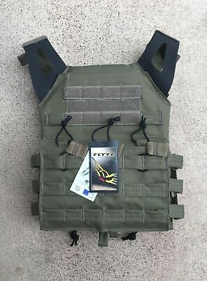 MODI (FLYYE) JPC Swift Tactical Plate Carrier - Ranger Green -Fabric Webbing