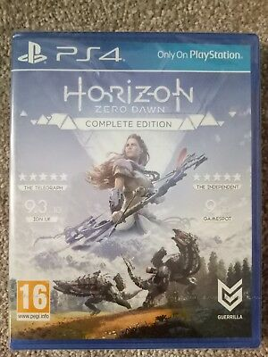 Horizon Zero Dawn Complete Edition - Playstation 4 - Brand new factory sealed