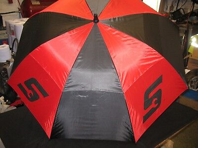 Snap On Tools Red Umbrella With Soft Grip Screwdriver Handle  Brand New