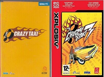 2X PC CD ROM Game CRAZY TAXI BUNDLE 1 & 3 Cheapest on eBay PC