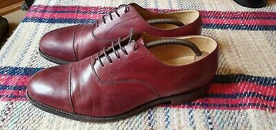 c4251a99 Beautuful Vintage Oxblood Loake Formal Lace Up Oxfords Semi Brogues UK 11 F