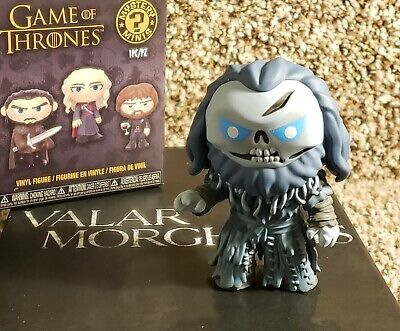 Game of Thrones FUNKO Mini GIANT WIGHT Vinyl Hot Topic Exclusive GLOW 2019 HBO