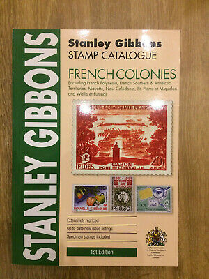 French Colonies Stamp Catalogue 1st Edition Stanley Gibbons N