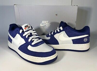 475b520e18bc8 Boys Nike Air Force 1 Blue/White Shoes Size 7Y *EXCELLENT COND. ONLY