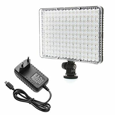 ZCTL Photo Studio Lighting Video Panel 176 LED Video Light Camera (175 LEDs)