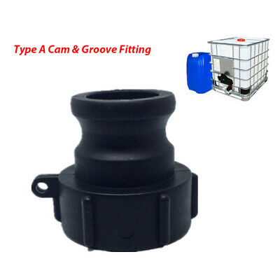 Camlock Coupling Fitting, Ibc Tank,  Male, Hose Tail Type A  3/4''1'' 2'' 3''
